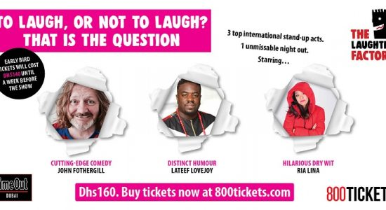 The Laughter Factory comedy tour - comingsoon.ae