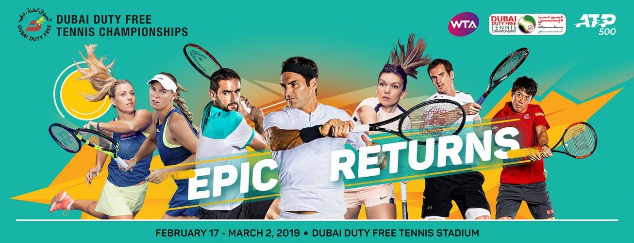 Dubai Duty Free Tennis Championships 2019 - Coming Soon in UAE, comingsoon.ae