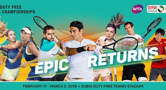 Dubai Duty Free Tennis Championships 2019 - comingsoon.ae