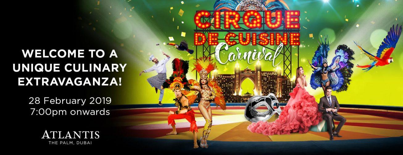 Cirque De Cuisine Carnival Edition - Coming Soon in UAE, comingsoon.ae