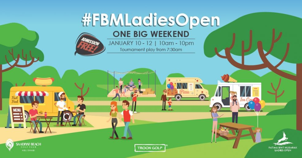 The FBM Ladies Open One Big Weekend - Coming Soon in UAE, comingsoon.ae