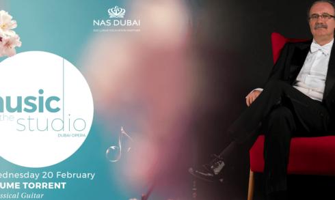 Jaume Torrent – Classical Guitar concert - Coming Soon in UAE, comingsoon.ae
