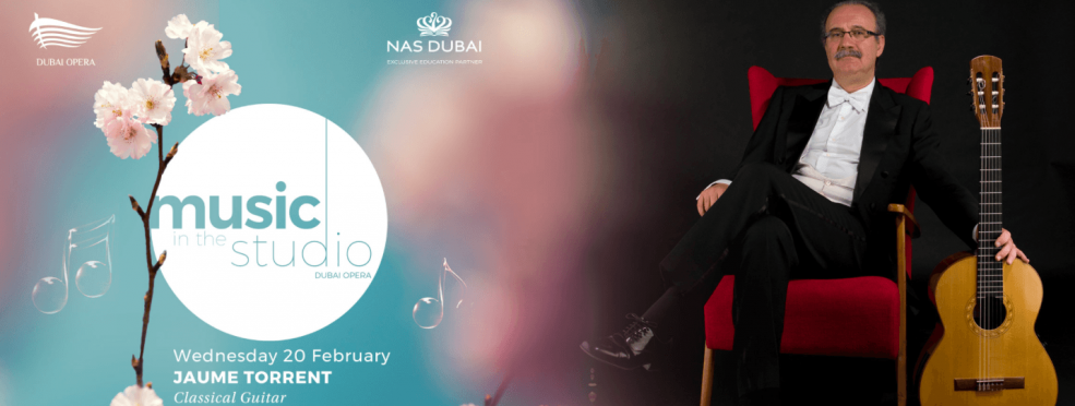Jaume Torrent – Classical Guitar concert - Coming Soon in UAE, comingsoon.ae