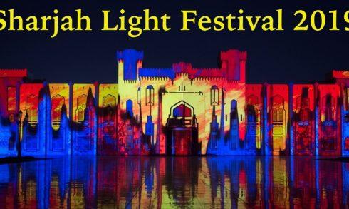 Sharjah Light Festival 2019 - Coming Soon in UAE, comingsoon.ae