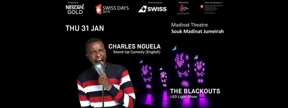 Swiss days 2019 – The Blackouts and Charles Nguela - Coming Soon in UAE, comingsoon.ae