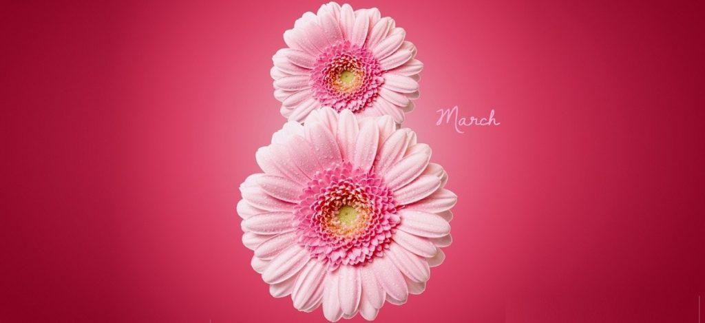 March 8 — International Women's Day