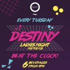 Destiny Ladies' Night at Zero Gravity, Dubai