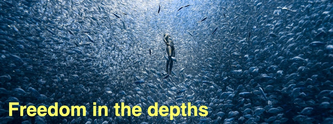 Freediving — the way to freedom in the depths