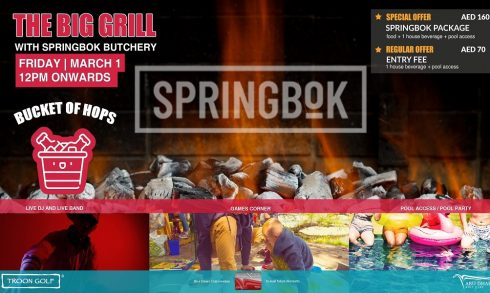 The Big Grill With Springbok Butchery - Coming Soon in UAE, comingsoon.ae