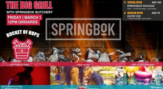 The Big Grill With Springbok Butchery - comingsoon.ae