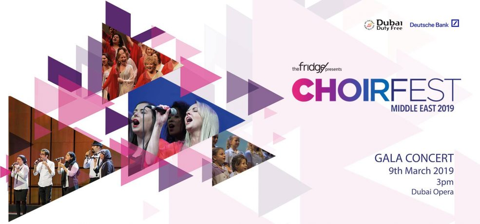 ChoirFest Middle East 2019 - Coming Soon in UAE, comingsoon.ae