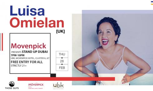Stand Up Dubai: Luisa Omielan - Coming Soon in UAE, comingsoon.ae