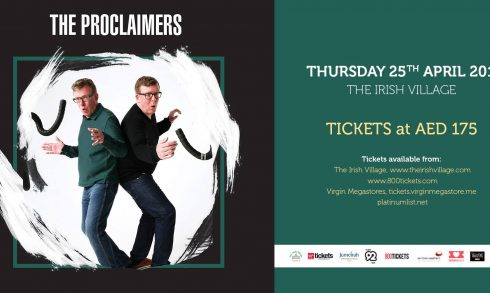 The Proclaimers Live at the Irish Village - Coming Soon in UAE, comingsoon.ae