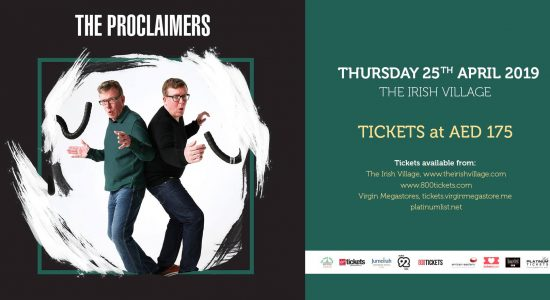 The Proclaimers Live at the Irish Village - comingsoon.ae