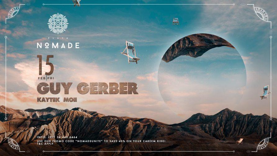 Guy Gerber at Playa Nomade - Coming Soon in UAE, comingsoon.ae