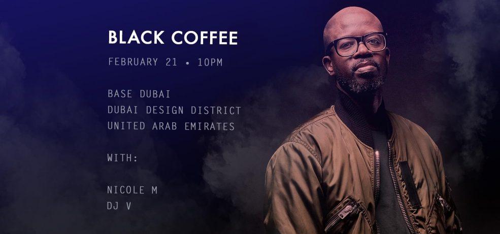 Base presents Black Coffee - Coming Soon in UAE, comingsoon.ae