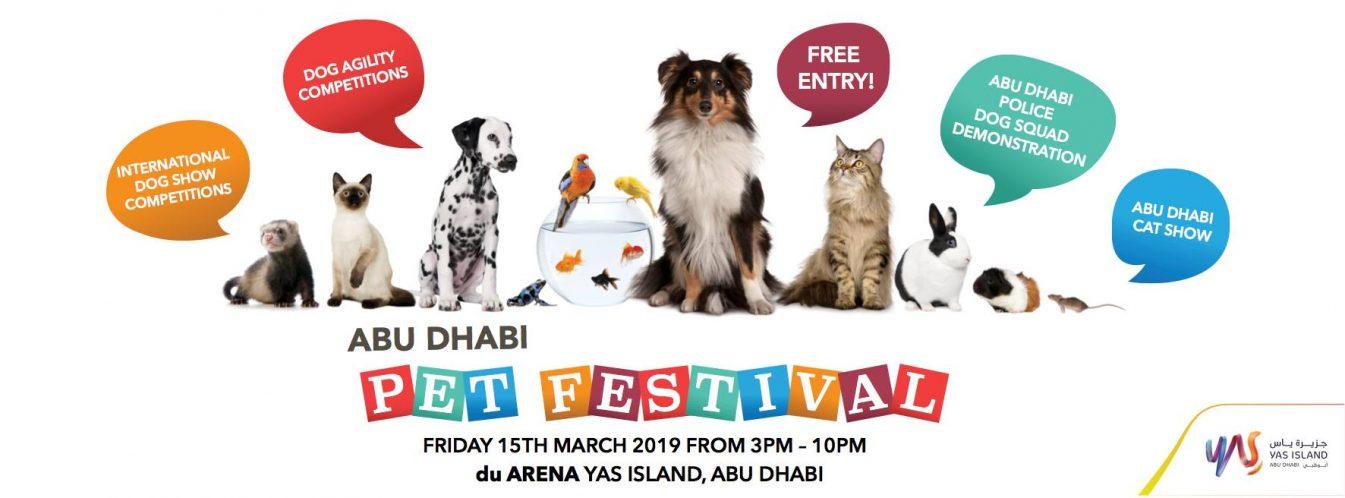 Abu Dhabi Pet Festival 2019 - Coming Soon in UAE, comingsoon.ae