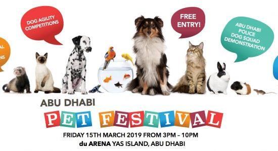 Abu Dhabi Pet Festival 2019 - comingsoon.ae