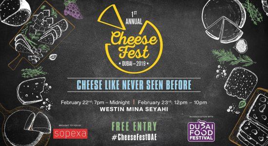 Dubai Cheese Fest 2019 - comingsoon.ae