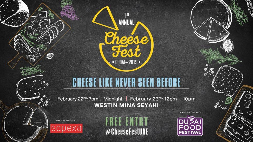 Dubai Cheese Fest 2019 - Coming Soon in UAE, comingsoon.ae
