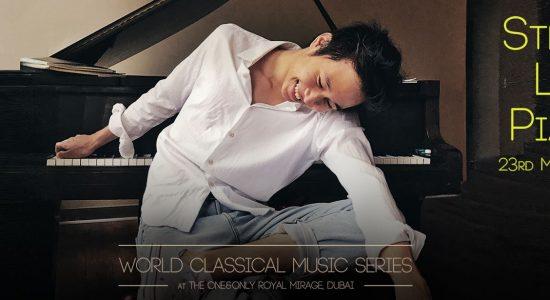 Steven Lin piano concert - comingsoon.ae