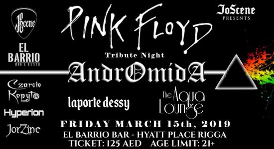 Pink Floyd Tribute Night by Andromida - comingsoon.ae