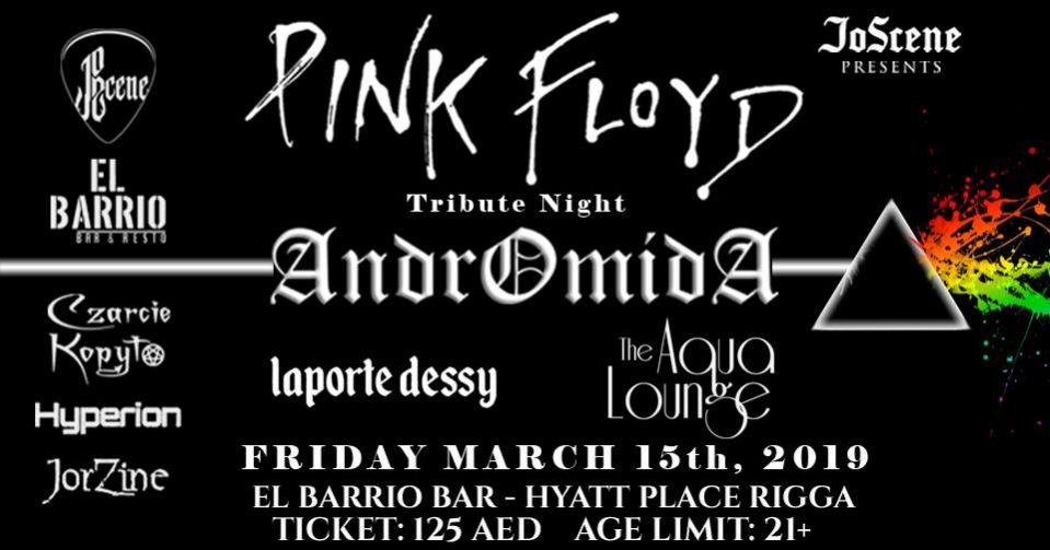 Pink Floyd Tribute Night by Andromida - Coming Soon in UAE, comingsoon.ae