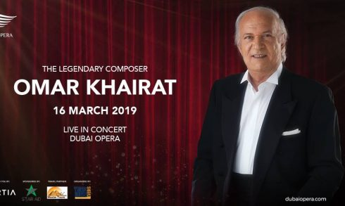 Omar Khairat at the Dubai Opera - Coming Soon in UAE, comingsoon.ae