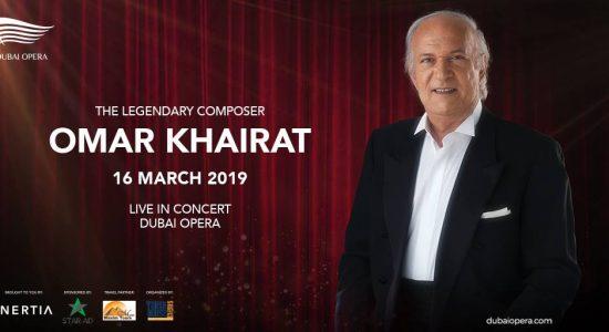 Omar Khairat at the Dubai Opera - comingsoon.ae