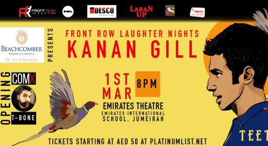 Front Row Laughter Nights with Kanan Gill - comingsoon.ae