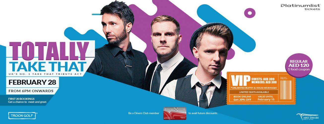 Totally Take That Tribute Concert - Coming Soon in UAE, comingsoon.ae