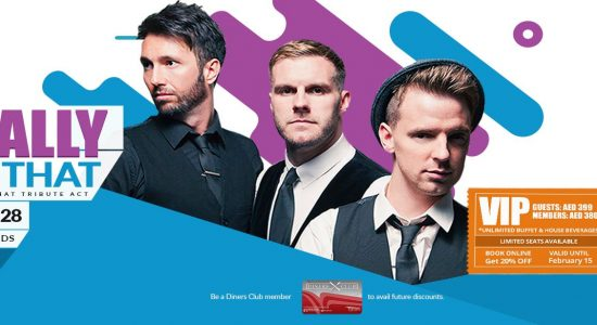 Totally Take That Tribute Concert - comingsoon.ae