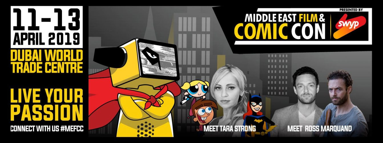 Middle East Film & Comic Con 2019 - Coming Soon in UAE, comingsoon.ae
