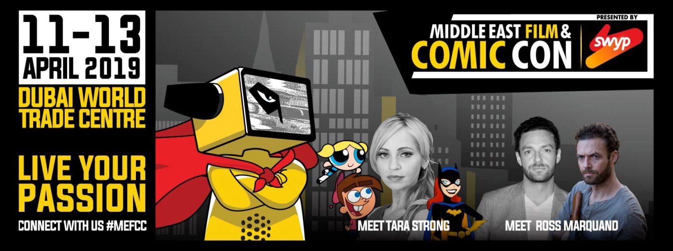 Middle East Film & Comic Con 2019 - Coming Soon in UAE, comingsoon.ae