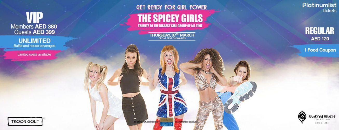 Spicey Girls at the Saadiyat Beach Golf Club - Coming Soon in UAE, comingsoon.ae