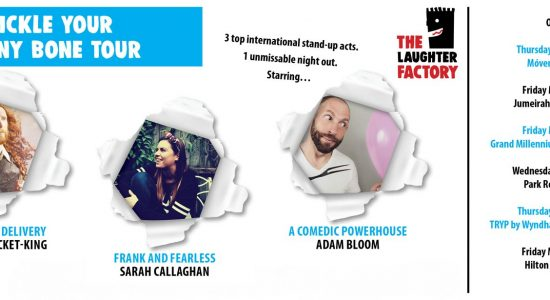 The Laughter Factory: Tickle your funny bone tour - comingsoon.ae