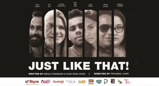 «Just Like That» — comedy at The Junction - comingsoon.ae