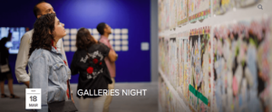 Galleries Night at Alserkal Avenue