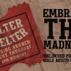 Helter Skelter Evening Brunch at Zero Gravity, Dubai