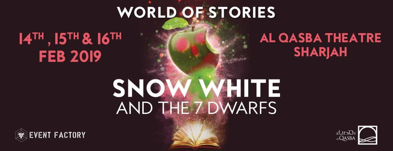 Snow White and The 7 Dwarfs musical - Coming Soon in UAE, comingsoon.ae