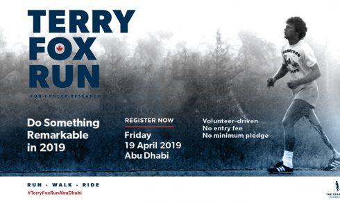 Terry Fox Run 2019 - Coming Soon in UAE, comingsoon.ae