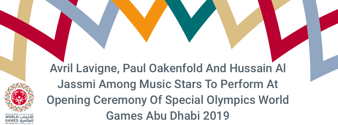 Avril Lavigne at the Opening Ceremony of Special Olympics World Games - Coming Soon in UAE, comingsoon.ae
