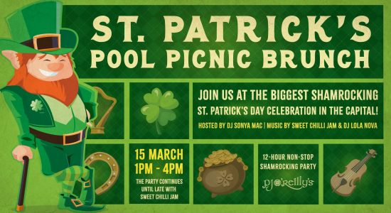 PJ O'Reilly's – St. Patrick's Pool Picnic Brunch - comingsoon.ae
