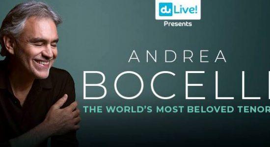 Andrea Bocelli concert at du Arena - comingsoon.ae