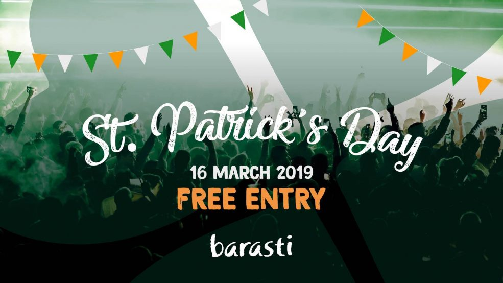 St. Patrick's Day at Barasti - Coming Soon in UAE, comingsoon.ae