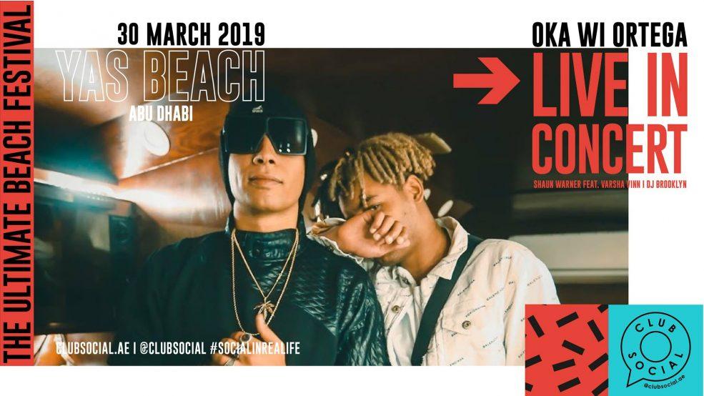 Club Social – Oka Wi Ortega Live in Concert - Coming Soon in UAE, comingsoon.ae
