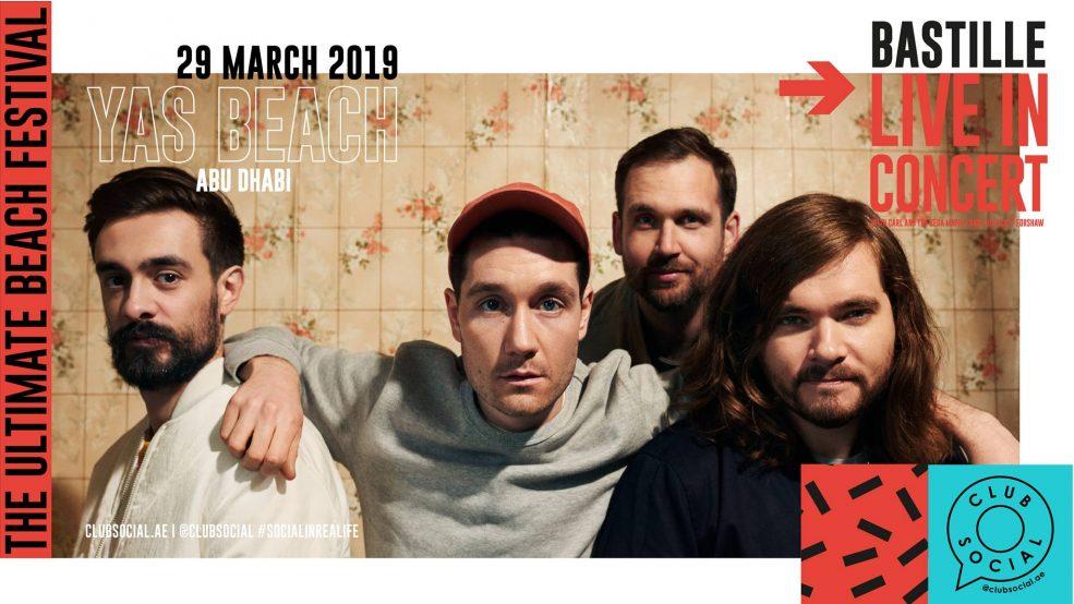 Bastille Live at Club Social Festival - Coming Soon in UAE, comingsoon.ae