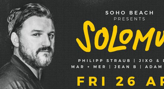 Solomun at Soho Beach - comingsoon.ae