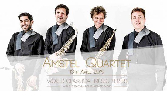 Amstel Quartet Saxophone Concert - comingsoon.ae
