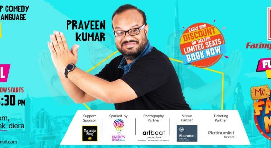 Tamil Stand-up Comedy with Praveen Kumar - comingsoon.ae
